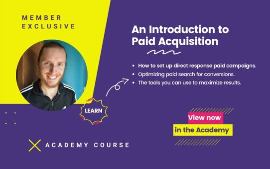 An Introduction to Paid Acquisition Course