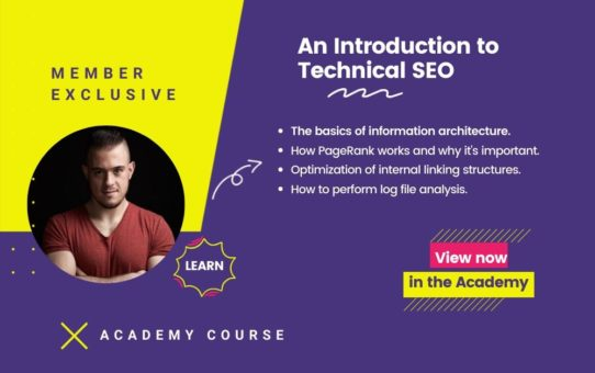 An Introduction to Technical SEO Course