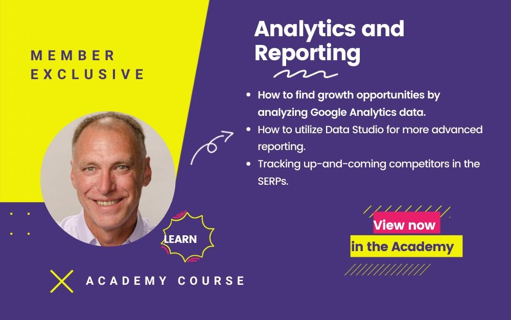 Analytics and Reporting Course